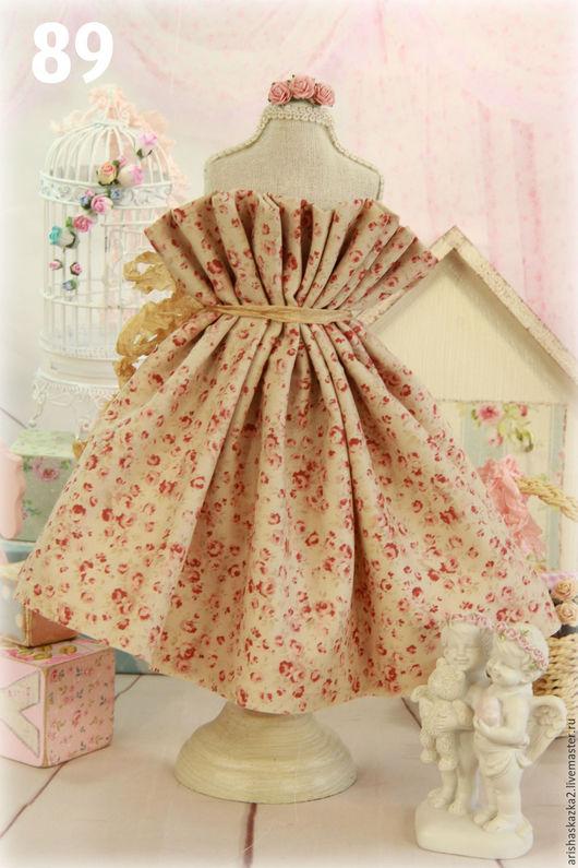 Куклы и игрушки ручной работы. Ярмарка Мастеров - ручная работа. Купить Ткань хлопок для кукольной одежды . Ткань для кукол. Handmade.