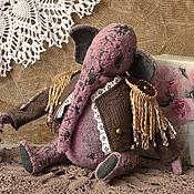 Куклы и игрушки ручной работы. Ярмарка Мастеров - ручная работа Тедди слон Антуан. Handmade.