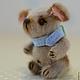 Мишки Тедди ручной работы. Заказать собачка Мушка. Сказка рядом. Ярмарка Мастеров. Маленькая, фетр