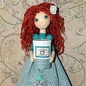 Куклы и игрушки ручной работы. Ярмарка Мастеров - ручная работа Хранительница ватных дисков и палочек Лерочка. Handmade.