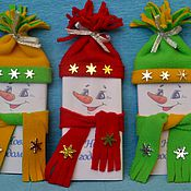 """Цветы и флористика ручной работы. Ярмарка Мастеров - ручная работа Шоколад """"Новогодний снеговичок"""". Handmade."""