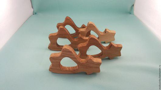 """Развивающие игрушки ручной работы. Ярмарка Мастеров - ручная работа. Купить Грызунок """"Камета"""". Handmade. Бежевый, грызунок деревянный"""