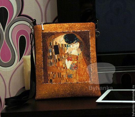 """Женские сумки ручной работы. Ярмарка Мастеров - ручная работа. Купить Сумка """"Поцелуй"""". Handmade. Сумка кожаная, сумка для девочки"""