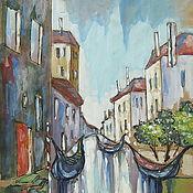 Картины и панно ручной работы. Ярмарка Мастеров - ручная работа Венеция. Полдень. Handmade.