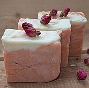 Косметика ручной работы. Ярмарка Мастеров - ручная работа Натуральное мыло Rosa damascena, мыло с нуля. Handmade.