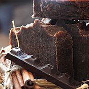Косметика ручной работы. Ярмарка Мастеров - ручная работа Мыло с нуля Пряный Шоколад. Шоколадное мыло. Handmade.