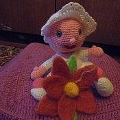 """Куклы и игрушки ручной работы. Ярмарка Мастеров - ручная работа пупс крючком """"Я родился"""". Handmade."""