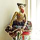 Коллекционная кукла `Лета`. Olga Mart. Ярмарка Мастеров.