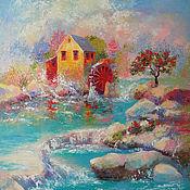 Картины и панно ручной работы. Ярмарка Мастеров - ручная работа «Живая вода».. Handmade.