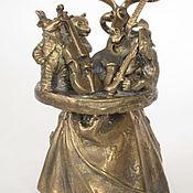 Сувениры и подарки handmade. Livemaster - original item Bronze bell Quartet. Handmade.