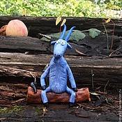 Мини фигурки и статуэтки ручной работы. Ярмарка Мастеров - ручная работа Козел керамика. Handmade.