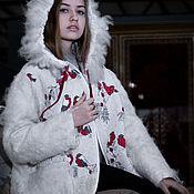 """Одежда ручной работы. Ярмарка Мастеров - ручная работа Куртка """" Снегири"""" 2. Handmade."""