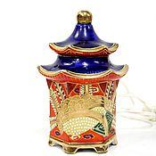 Винтаж handmade. Livemaster - original item Lamp-night lamp made of porcelain. Handmade.
