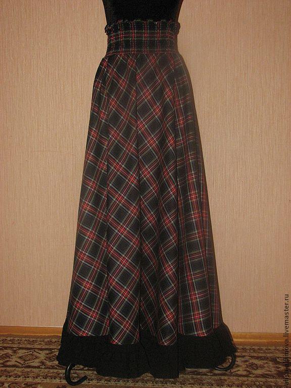 юбка в пол на кокетке купить: