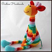 Куклы и игрушки handmade. Livemaster - original item Toy giraffe. Handmade.