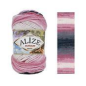 Yarn handmade. Livemaster - original item ALIZE BURCUM BATIK - ALIZE BURCUM BATIK. Handmade.