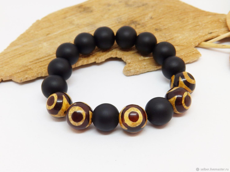 Bracelet amulet Eyes of the Gods, Bead bracelet, Gatchina,  Фото №1