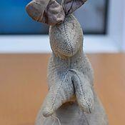 """Винтаж ручной работы. Ярмарка Мастеров - ручная работа Антикварный заяц """"Хотьково"""" 1920 года редкий!. Handmade."""