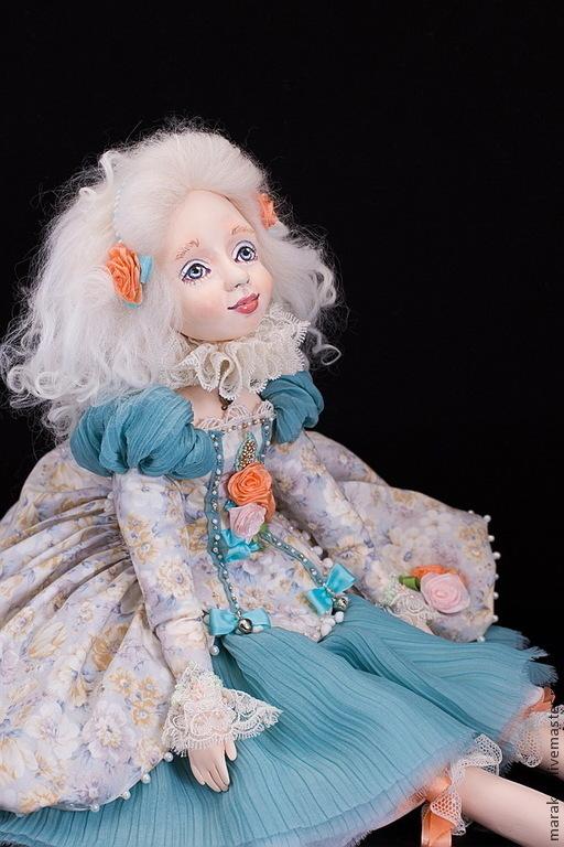 Новая будуарная куколка из серии `Нежный возраст - Адель`. Находится в частной коллекции.