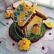 handmade. Livemaster - original item Gingerbread house. Handmade.