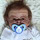 Куклы-младенцы и reborn ручной работы. Заказать Герман. Наталия Сомова (mireku). Ярмарка Мастеров. Мартышка, chester, мохер