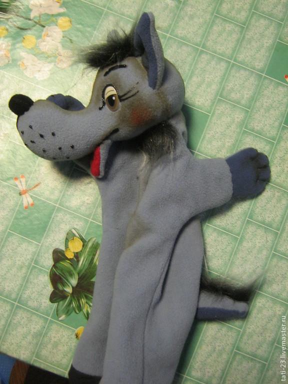 Перчаточная кукла своими руками волк 5