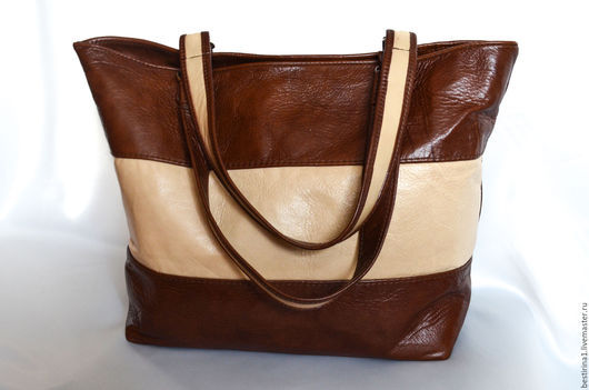 Женские сумки ручной работы. Ярмарка Мастеров - ручная работа. Купить Сумка кожаная женская. Handmade. Коричневый, повседневная сумка