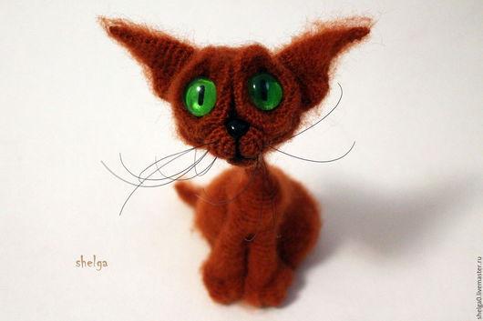 Игрушки животные, ручной работы. Ярмарка Мастеров - ручная работа. Купить Рыжий кот. Handmade. Котик, оригинальный подарок