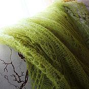 Аксессуары handmade. Livemaster - original item the maltese shawl, pistachio. Handmade.