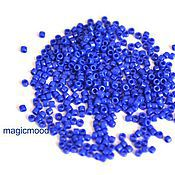 Материалы для творчества handmade. Livemaster - original item 5 g 11/0 Toho Treasures 48 blue Japanese TOHO beads opaque. Handmade.