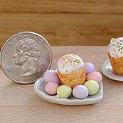 Куклы и игрушки ручной работы. Ярмарка Мастеров - ручная работа Пасха, пасхальные яйца 1:12. Handmade.