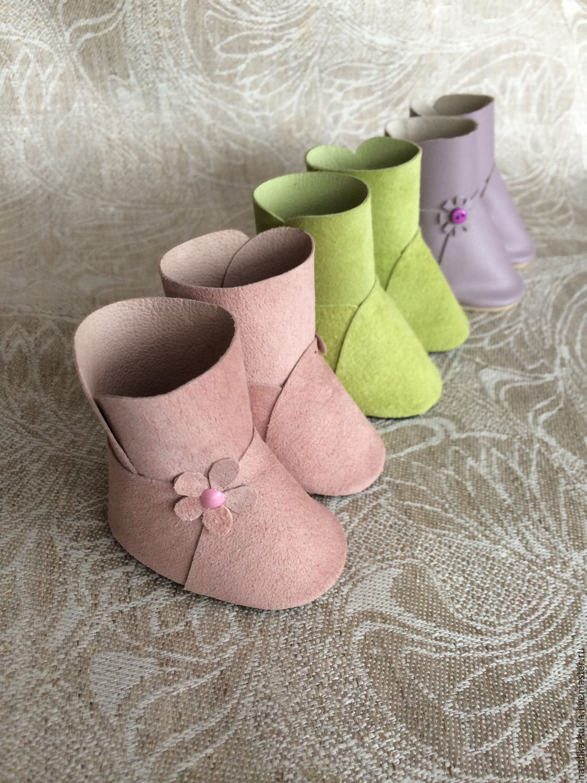 Мастерим сапожки-ботинки для куклы Ярмарка Мастеров 51