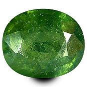 Материалы для творчества handmade. Livemaster - original item Sapphire green 0.76 CT., natural. Handmade.