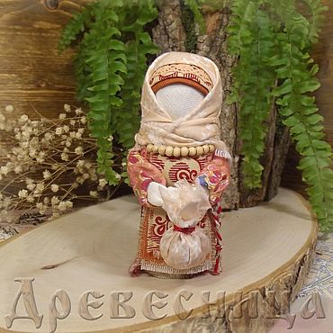 Куклы и игрушки ручной работы. Ярмарка Мастеров - ручная работа Кукла-оберег Подорожница. Handmade.