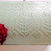 """Для дома и интерьера ручной работы. Ярмарка Мастеров - ручная работа Сундучок """"Мятная нежность"""". Handmade."""