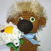 Куклы и игрушки ручной работы. Ярмарка Мастеров - ручная работа Романтичный ежик. Handmade.