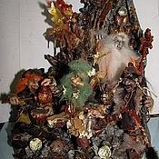 Куклы и игрушки ручной работы. Ярмарка Мастеров - ручная работа Интерьерная композиция В пещере горного короля. Handmade.