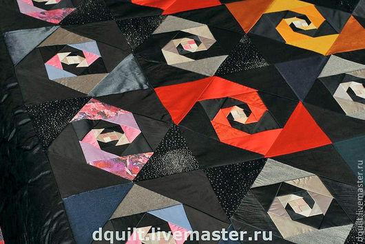 Текстиль, ковры ручной работы. Ярмарка Мастеров - ручная работа. Купить Покрывало  Чардаш. Handmade. Покрывало, эксклюзив, ситец
