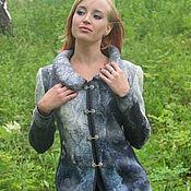 Одежда handmade. Livemaster - original item Jacket felted Morskaya Skazka. Handmade.
