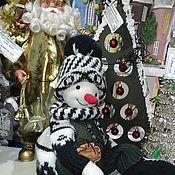 Снеговики ручной работы. Ярмарка Мастеров - ручная работа Снеговик. Handmade.