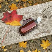 Подарки для охотников и рыболовов ручной работы. Ярмарка Мастеров - ручная работа Чехол-кобура ножа buck110. Handmade.