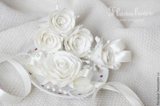 Свадебная коллекция `Нежные чувства`. Цвет айвори