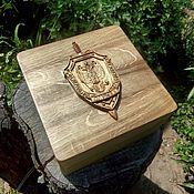 Для дома и интерьера handmade. Livemaster - original item Jewelry box with hidden bottom. Handmade.