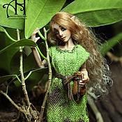 Куклы и игрушки handmade. Livemaster - original item Lena and Elina (12.5 cm). Handmade.