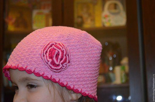 Шапки ручной работы. Ярмарка Мастеров - ручная работа. Купить шапка детская, летняя. Handmade. Комбинированный, сделаю на заказ, хдопок