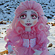 Куклы тыквоголовки ручной работы. Ярмарка Мастеров - ручная работа. Купить Кукла Эльфийка. Handmade. Розовый, игровая кукла, эльф
