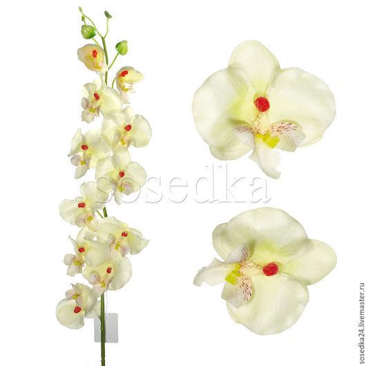 Цветы ручной работы. Ярмарка Мастеров - ручная работа. Купить Искусственная орхидея из латекса как живая пр-во Голландия DF112-109. Handmade.
