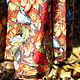 """Юбки ручной работы. Теплая юба """"Шорох листьев"""". Маша Одуванка. Интернет-магазин Ярмарка Мастеров. Рисунок, красивая юбка"""