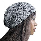 Аксессуары handmade. Livemaster - original item Caps:Hat a Foggy morning. Handmade.
