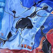 """Аксессуары ручной работы. Ярмарка Мастеров - ручная работа Платок """"Танец"""". Handmade."""